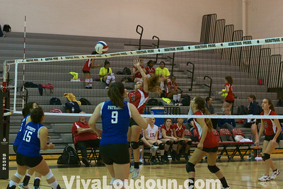 Volleyball: Park View at Heritage JV (Jeff Scudder)