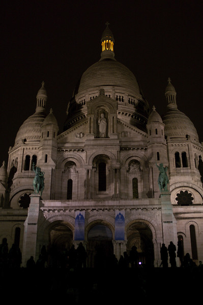 Sacre Coeur, which, in France, counts as modern architecture.