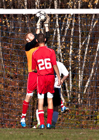 Pittston at Coughlin soccer 10/28/10