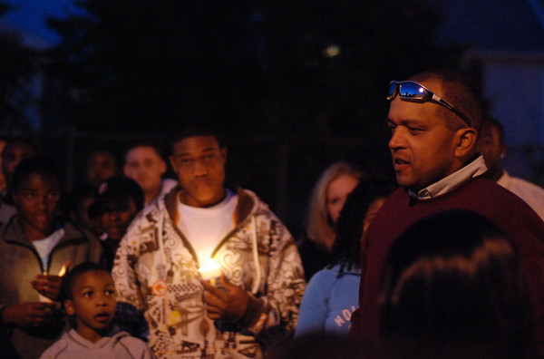 """9/23/2008  Candlelight Vigil  for William L. """"Will"""" Smith Jr."""