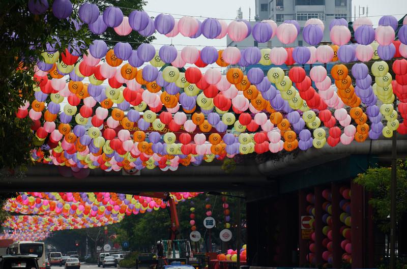 Covered - Mid-Autumn Celebration - Chinatown, Singapore