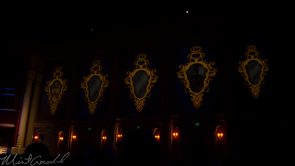 Disneyland Resort, Disney California Adventure, Hollywood Land, Sunset Showcase Theater, Sunset, Showcase, Theater, Beauty And The Beast, Beauty, Beast, Sneak, Peek