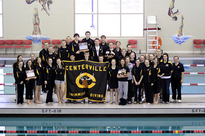 2010-2011 Centerville HS Swimming and Diving