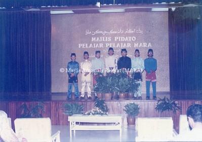1990 - MAJLIS PIDATO PELAJAR-PELAJAR MARA