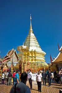 Chiang Mai, Thailand - Wat Prathat Doi Suthep