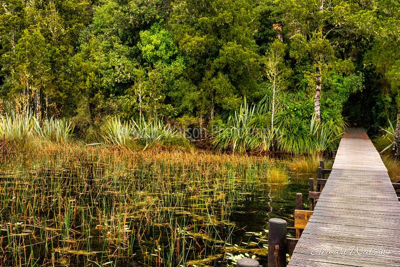 Lake Mahinapua jetty