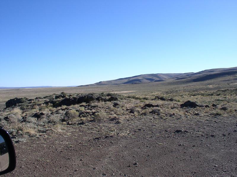 back roads at Hart Mountain