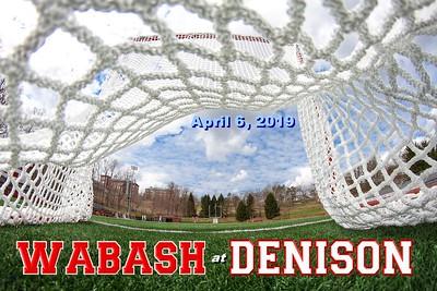 2019 Wabash at Denison (04-06-19)