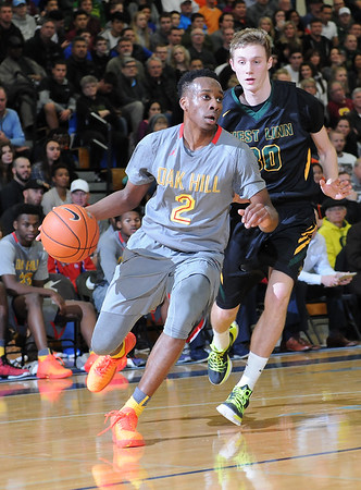 Oak Hill Academy (VA) vs. West Linn - 2015 Les Schwab Invitational