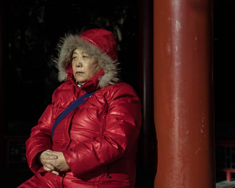 Old Woman at the Summer Palace