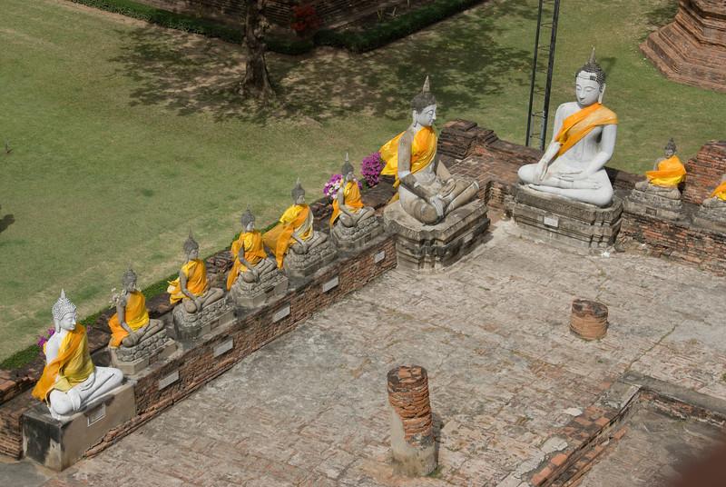 Row of Buddhas 3 - Ayutthaya, Thailand.jpg