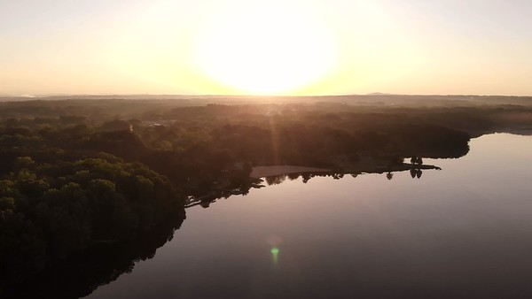 Snippet from this morning's sunrise flight.