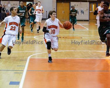 Boys Basketball JV Wakefield 1/4/13