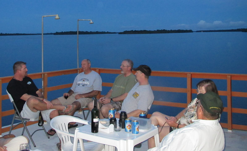 Our last night on board