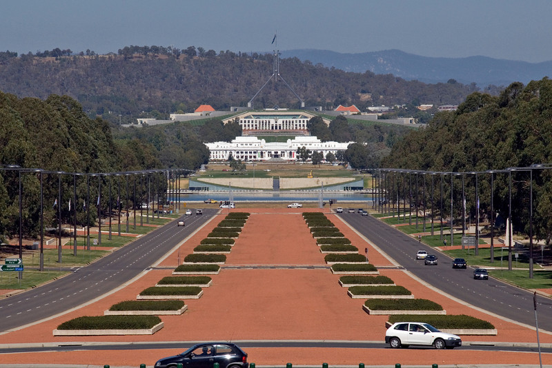 Road to Parliment - Canberra, Australia