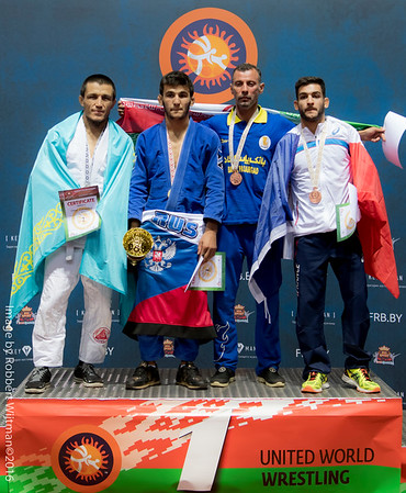 2016 Grappling World Championships Medal Stand