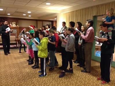 HOPE and JOY Christmas Caroling - December 13, 2013