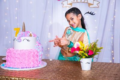 Jiya 7th Birthday