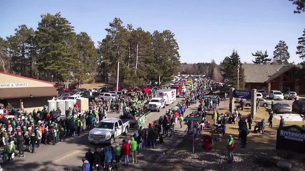 Crosslake St. Patrick's Day Parade 2017