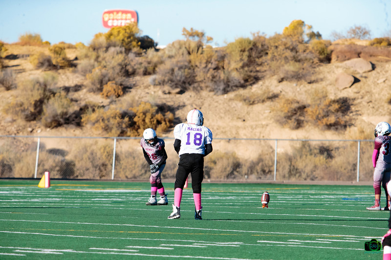 TDFL Patriots vs Pueblo CO Hawks Football 10-26-2019