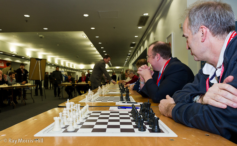 Nigel Short Simultaneous Display, 3 December 2012
