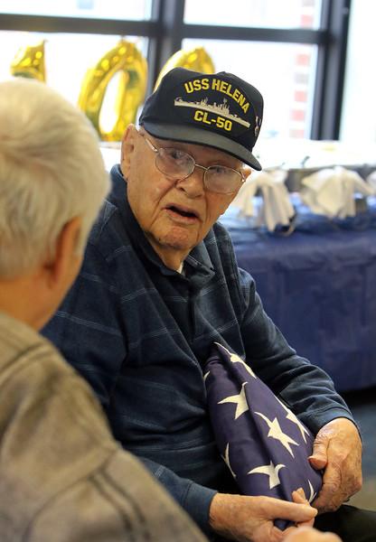 WWII veteran 100th birthday Bedford VA 020120