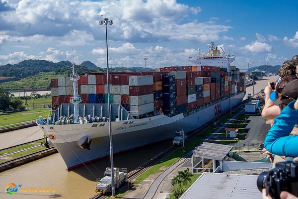 Panama Canal @ Miraflores