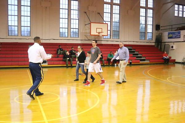 Prep Basketball vs. Woodberry Forest -- Feb. 16, 2018