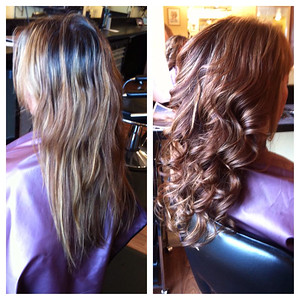 Freshen up that faded summer hair with a new Fall Color!    Hair by Megan