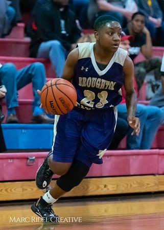 Broughton girls varsity basketball vs Sanderson. February 12, 2019. 750_6040