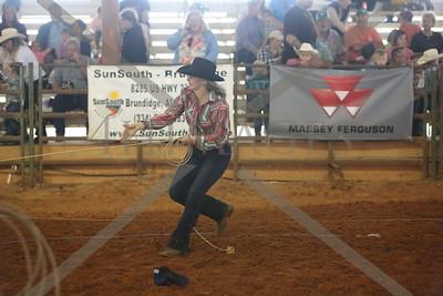 foot calf roping sr