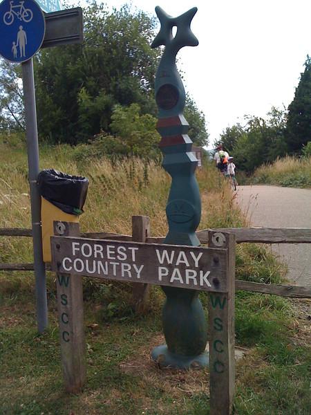 Trail Head in East Grinstead