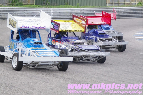 V8 Hot Stox, Birmingham Wheels Raceway, 9 June 2012