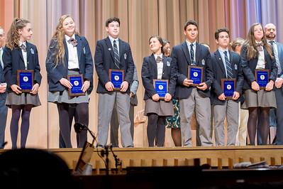 Freshman & Junior Varsity Fall Athletic Awards –November 15, 2017