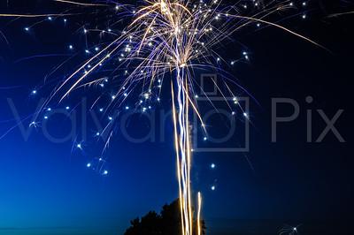 Scranton,Pa  July 4th 2014 Fireworks