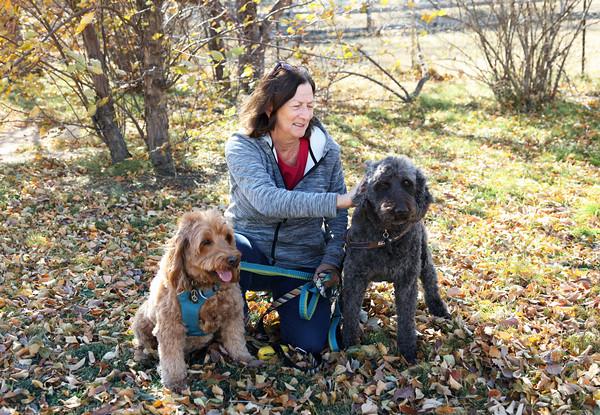 Connie with Frannie & Tigger