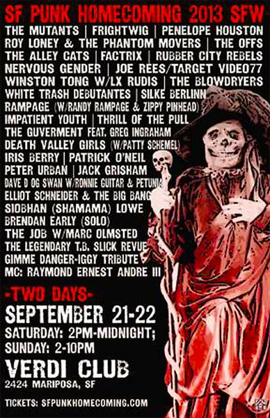 sf punk homecoming 09/21/2013