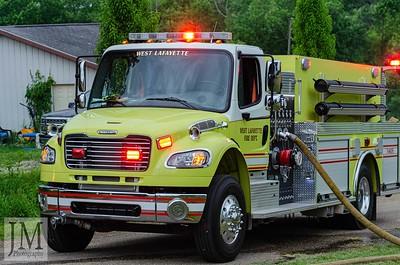 06-12-19 West Lafayette FD - House Fire