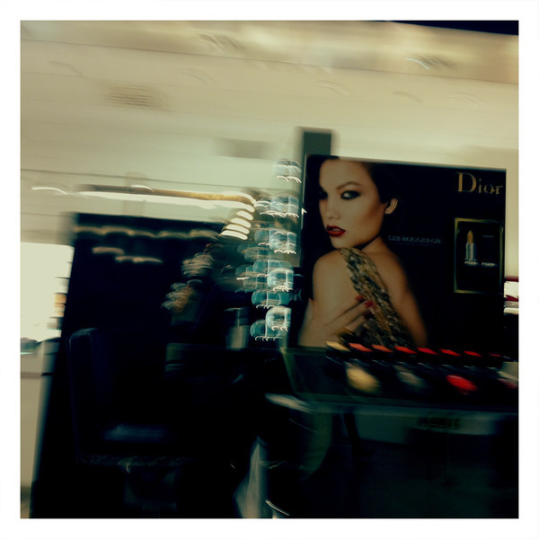 Fashion ads in the store