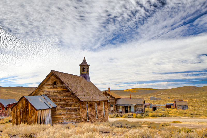 Methodist Church, Bodie, CA