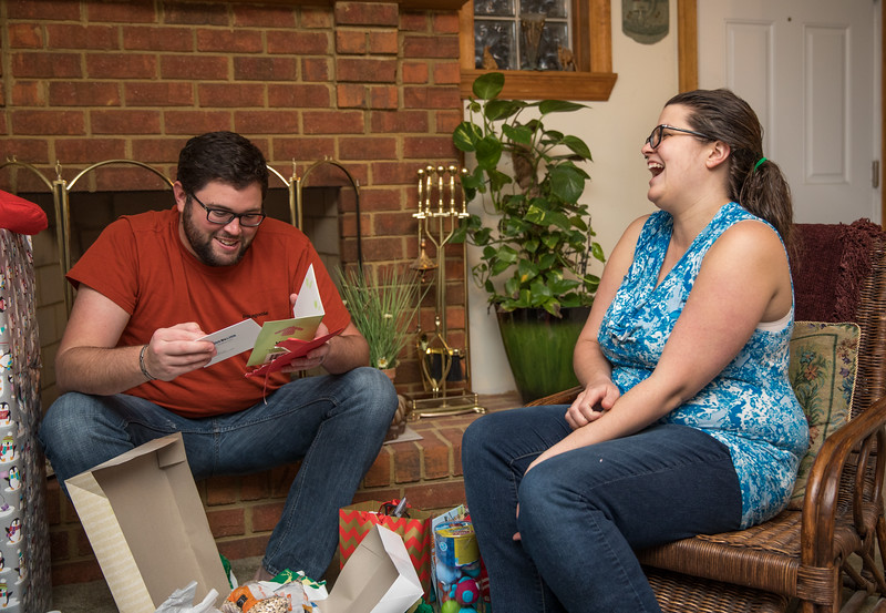 Holly and Jesse Opening Bean Present.jpg