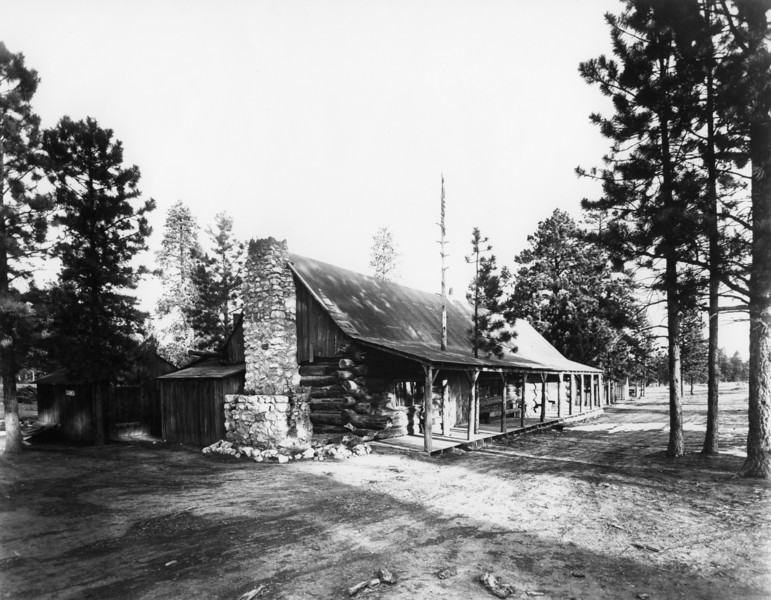 Utah Parks Co., Bryce Lodge. (Union Pacific Historical Collection)