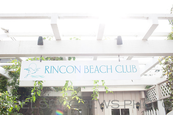Diana and Justin Rincon Beach Wedding