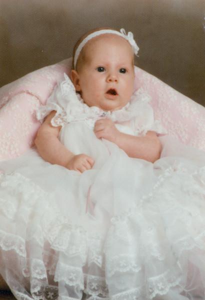 July 1988 - Andrea 6 weeks
