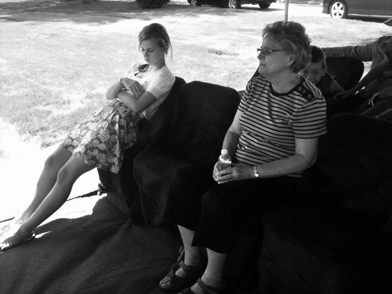 Haili and Aunt Norene.