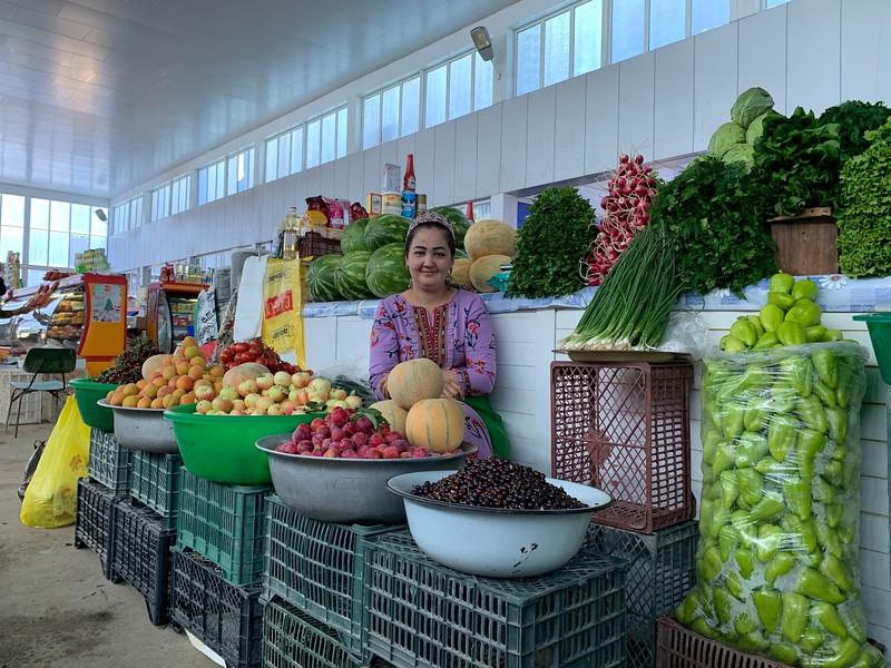 Bazaar in Turkmenistan