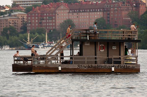 Stefan Sauna Boat