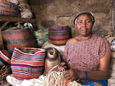 Mathare Basket Weavers-Women of the 2008 IDP camp