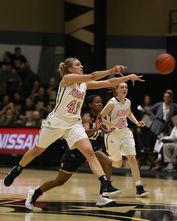Army v Navy Women's Basketball 180210