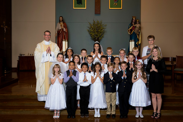 St. Ann's 1st Communion 2016